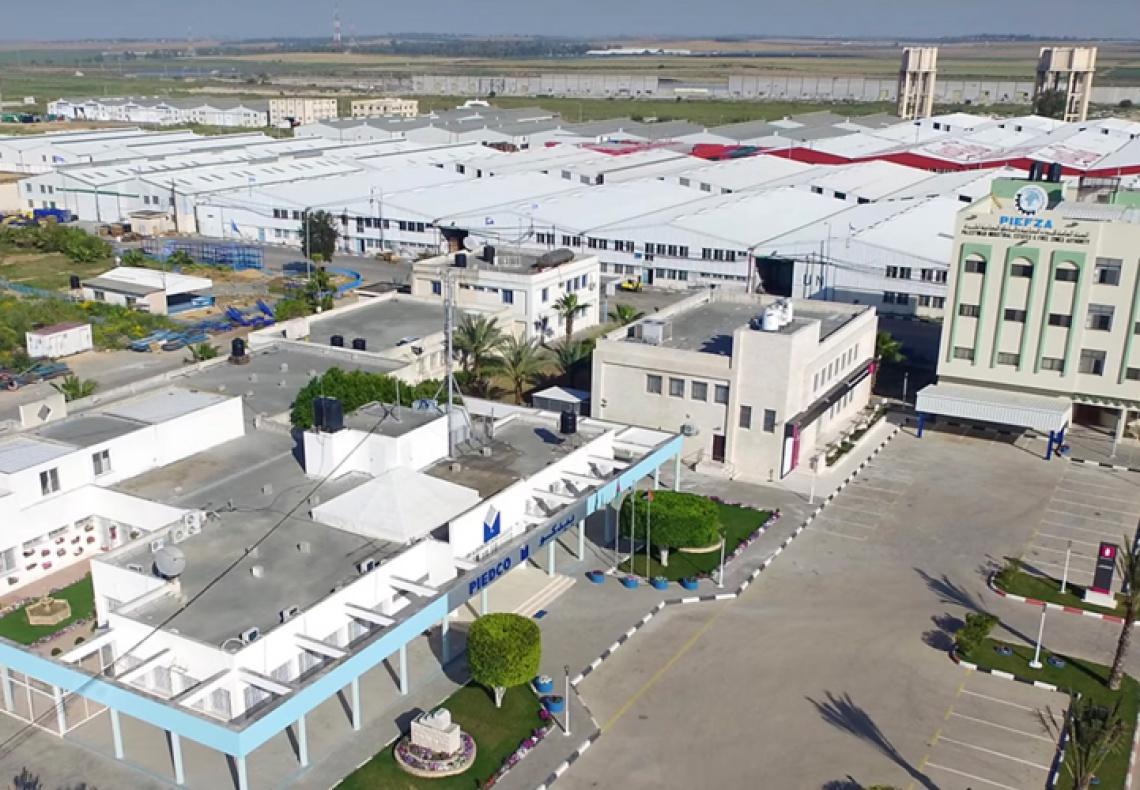Blended Finance Case Study: Gaza Industrial Estate Solar Energy Rooftop