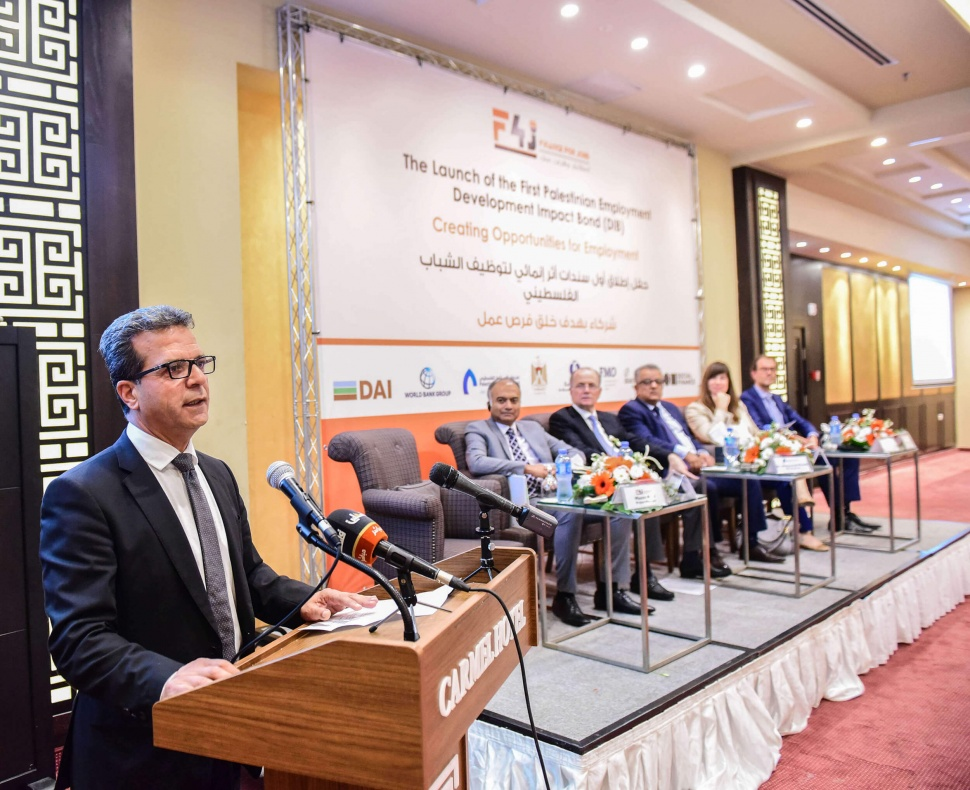 The First Palestinian Employment Development Impact Bond (DIB)