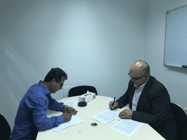 Grant Agreement Signing with Ibtikar Fund