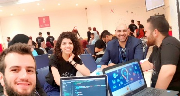 F4J participation in the AngelHack Ramallah Hackathon